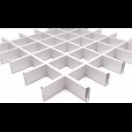 Подвесной потолок Грильято Белый 100x100x40 мм