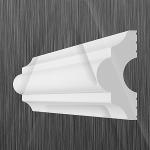 Потолочный плинтус КИНДЕКОР I-40(18х40 мм)