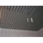 Потолочная рейка Албес 85мм (4м). Металлик