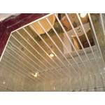 Потолочная рейка Албес 85мм (3м). Суперхром