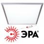 Панель светодиодная ультратонкая для потолка армстронг spl-1-40-4k (s) эра 40вт опал 4000к белый свет 3200 лм 595х595х10мм в комплекте с led-драйвером