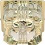 Светильник потолочный, JCD9 35W G9 с прозрачным стеклом, золото