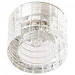 Светильник потолочный, JCD9 G9 с прозрачным стеклом, хром, с лампой, CD2111