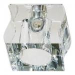 Светильник потолочный, JCD G9 с прозрачным стеклом, хром, с лампой, CD19